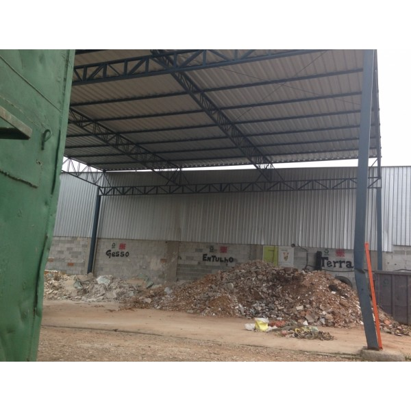 Caçamba para Entulho para Construções no Parque Novo Oratório - Preço de Caçamba de Entulho