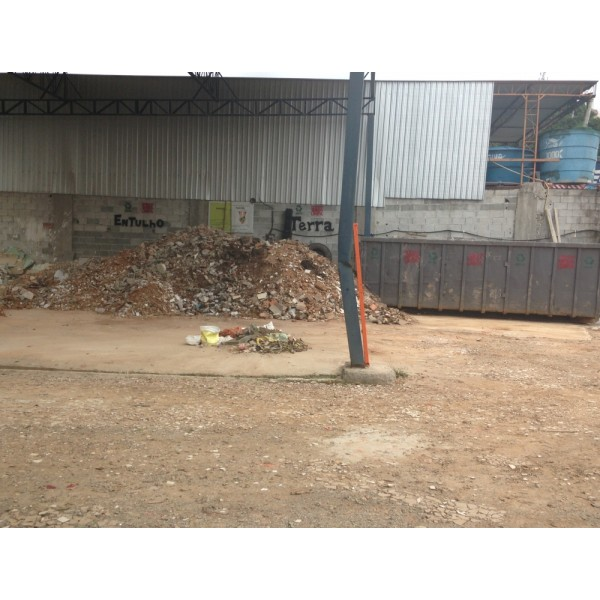 Caçamba para Entulho para Obras na Santa Cruz - Caçamba de Entulho em Diadema