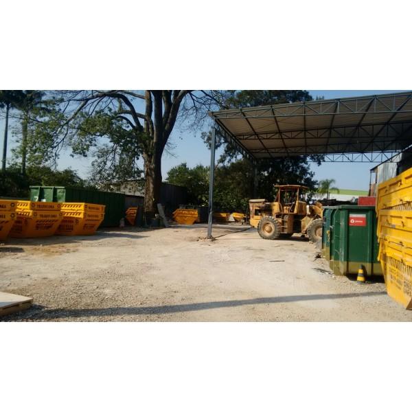 Caçamba para Lixo Como Fazer Locação  na Vila Valparaíso - Caçamba para Remoção de Lixo