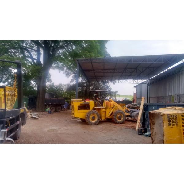 Caçamba para Lixo Onde Encontrar Empresa Que Faz Locação na Vila Guaraciaba - Caçamba para Remoção de Lixo