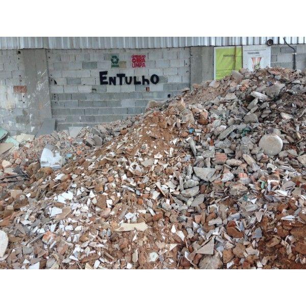 Caçambas de Entulho Como Fazer Locação  no Centro - Caçamba de Entulho Preço