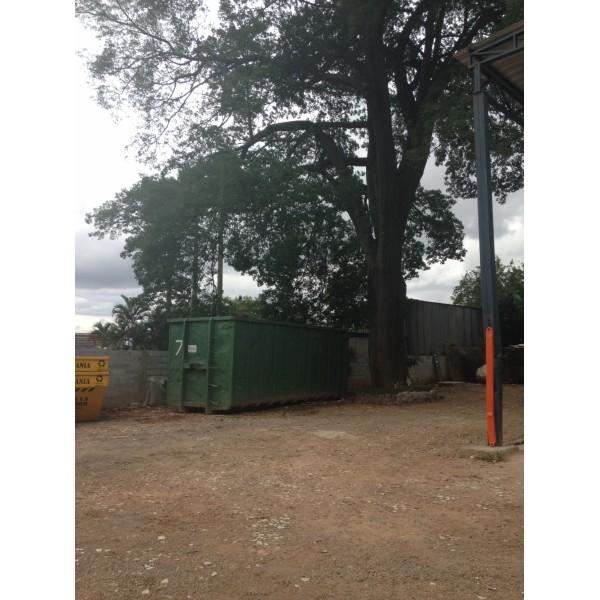 Caçambas de Entulho Empresas Que Fazem Locação em Baeta Neves - Caçamba de Entulho Preço