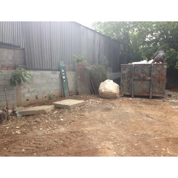Caçambas de Entulho Onde Encontrar Empresa Que Faz Locação na Vila Tibiriçá - Preço de Caçamba de Entulho
