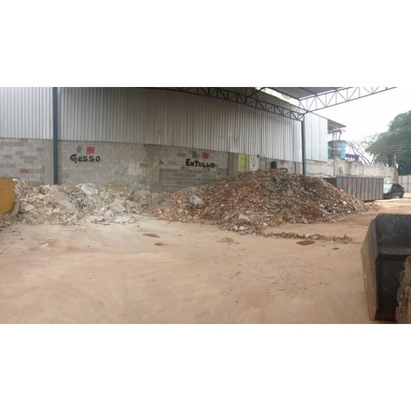 Caçambas de Entulho Valor em São Bernardo Novo - Caçambas de Entulho