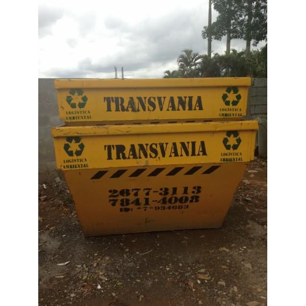 Caçambas para Lixo Onde Alugar na Vila Tibiriçá - Caçamba de Lixo em Santo André