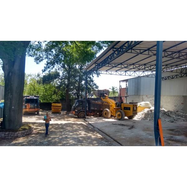 Contratar Empresa de Locação de Caçamba no Bairro Silveira - Locação de Caçamba Preço
