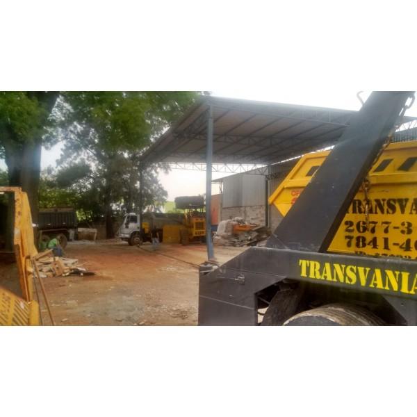Contratar Empresa para Fazer a Locação de uma Caçamba no Parque Marajoara I e II - Caçamba Aluguel Preço