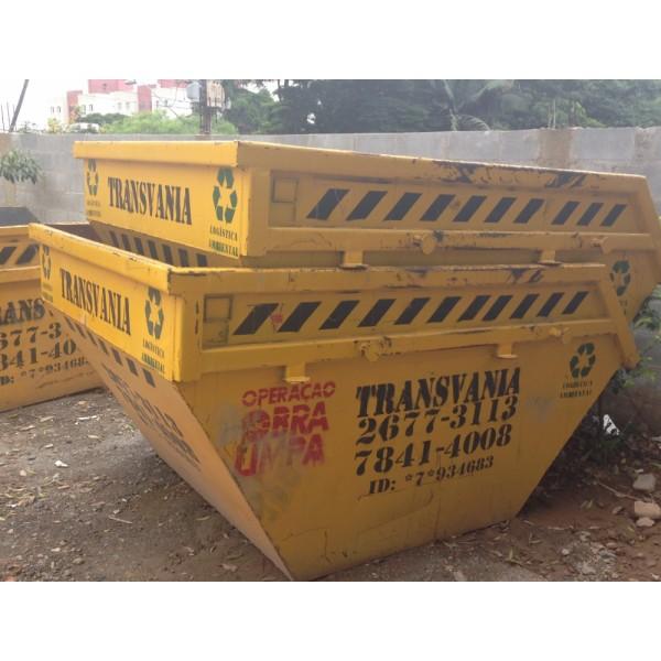 Contratar Empresa para Locação de Caçamba para Entulho para Obra na Anchieta - Caçamba de Entulho no Taboão