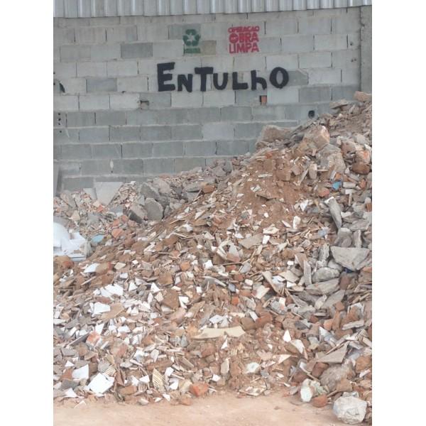 Empresa de Aluguel de Caçambas para Entulho para Obra na Vila Apiay - Preço de Caçamba de Entulho