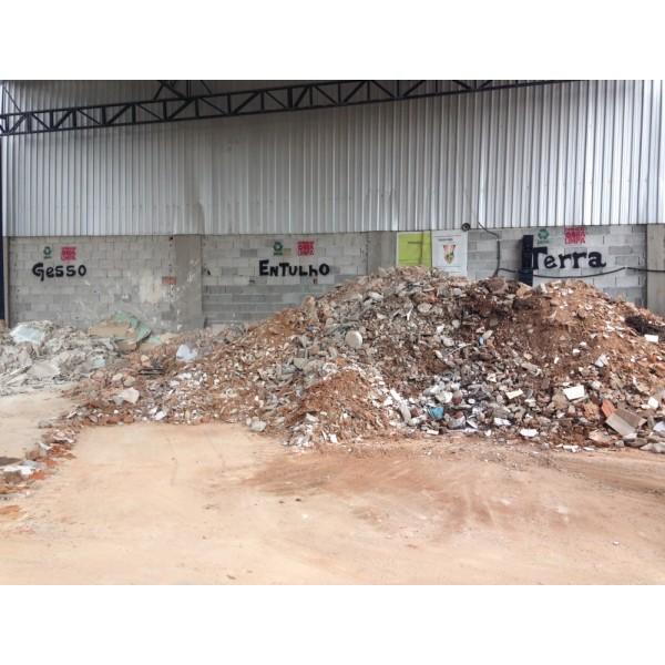 Empresa de Locação de Caçamba para Entulho no Bairro Santa Maria - Aluguel de Caçamba