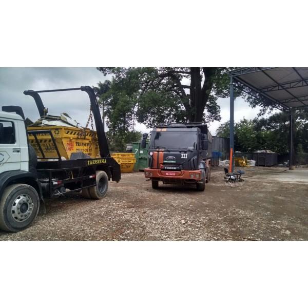 Empresa para Alugar Caçamba de Lixo para Obra na Vila Lutécia - Caçamba para Remoção de Lixo