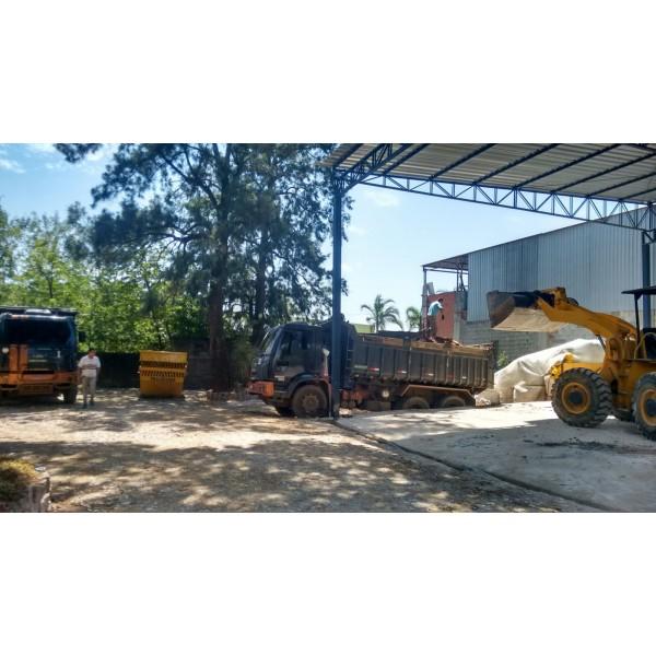 Empresa Que Aluga Caçambas no Alto Santo André - Locação de Caçamba