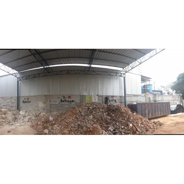 Empresa Que Aluga Caçambas para Entulho para Obra na Vila Aquilino - Caçamba de Entulho em Santo André