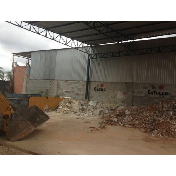 Empresas de Locação de Caçamba para Entulhos no Alto Santo André - Locação Caçambas