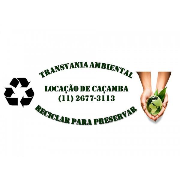 Empresas Que Fazem Locação de Caçamba para Lixo para Empresas de Construção Civil em Figueiras - Preço de Caçamba de Lixo