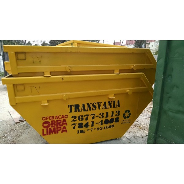 Locação de Caçamba para Lixo para Entulhos Quanto Custa em Nova Petrópolis - Caçamba de Remoção de Lixo