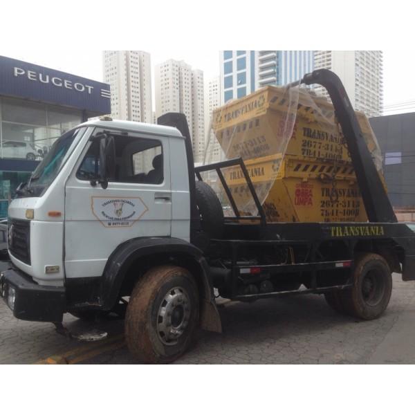 Locação de Caçambas de Lixo para Obra Barata no Bairro Silveira - Serviço de Caçamba de Lixo