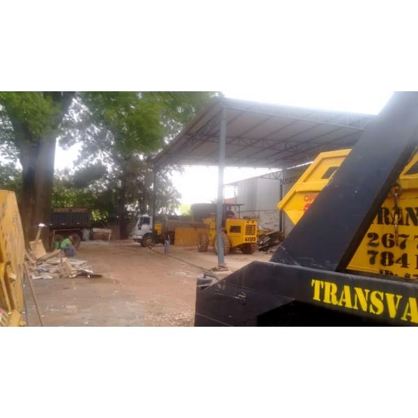 Locação de Caçambas por Pouco Tempo no Parque Novo Oratório - Serviço de Locação de Caçamba
