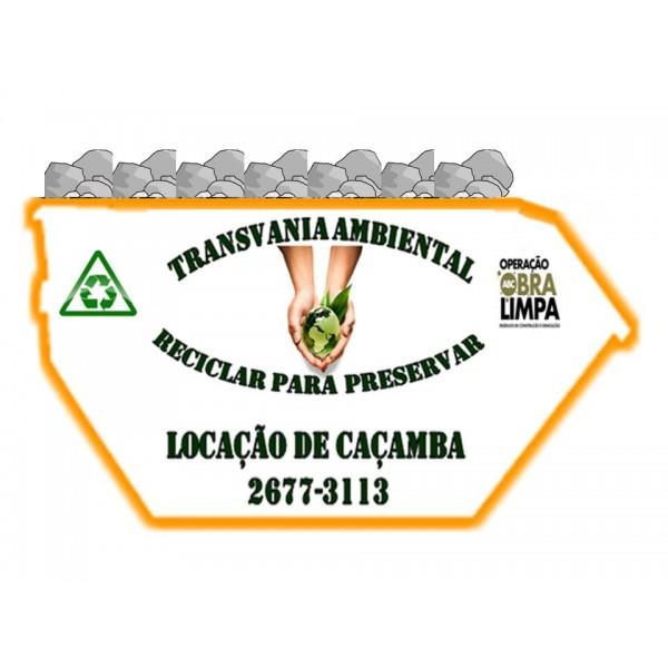 Onde Encontrar Empresa de Locação de Caçambas em São Bernardo do Campo - Locação de Caçamba para Entulhos