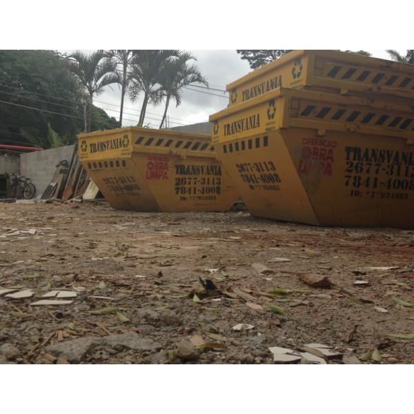Onde Encontrar Empresa para Alugar Caçamba para Entulho para Obra no Parque Novo Oratório - Empresa de Caçamba de Entulho