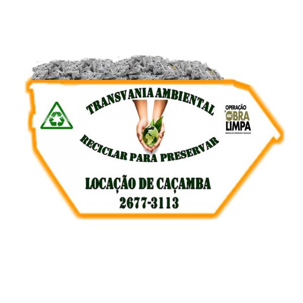Preciso de Empresa de Locação de Caçambas na Vila Eldízia - Caçambas para Locação