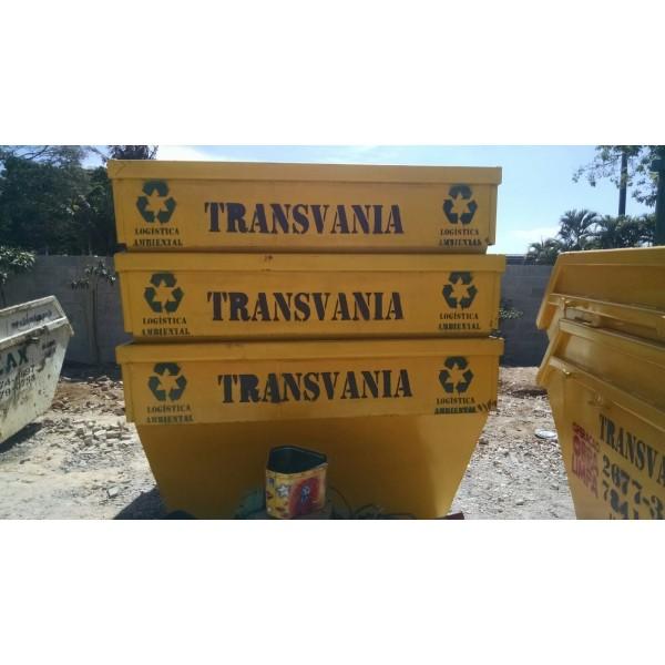 Preciso de Empresa para Locar Caçambas de Lixo para Obra no Bairro Casa Branca - Preço de Caçambas de Lixo