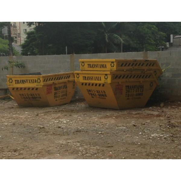 Preciso de Empresa para Locar Caçambas para Entulho para Obra na Vila Guarani - Empresa de Caçamba de Entulho