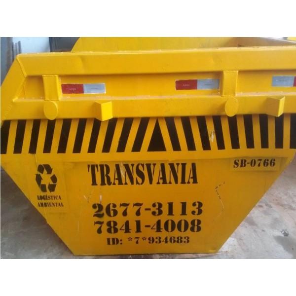 Preço de Caçamba de Lixo na Vila Valparaíso - Caçamba de Lixo de Obra