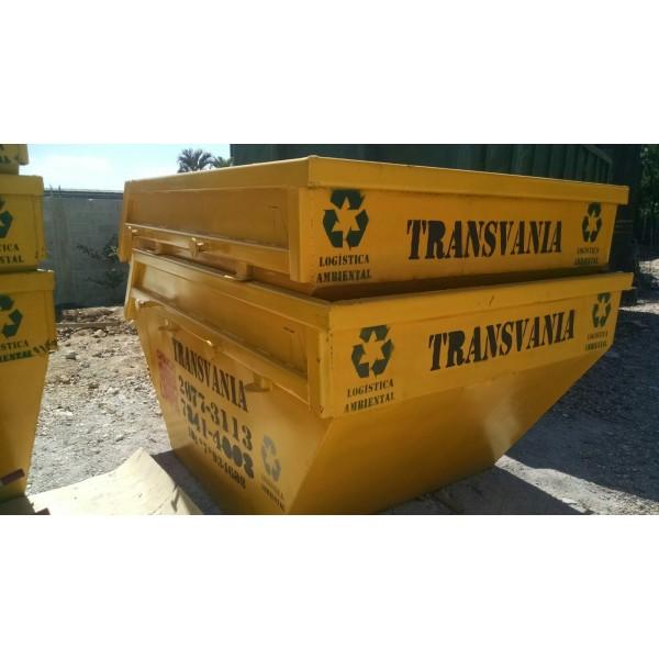 Preço para Locação de Caçamba de Lixo no Bairro Silveira - Preço de Aluguel de Caçamba de Lixo