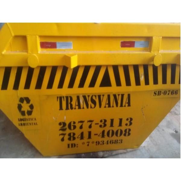 Preços Caçambas de Lixo na Vila Bastos - Caçamba de Lixo em Santo André