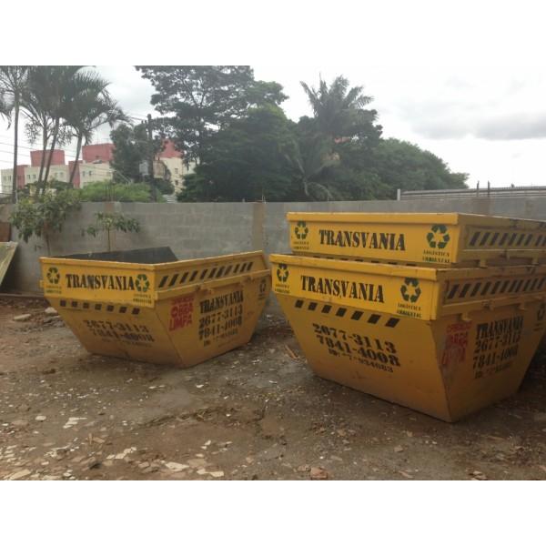 Preços de Locação de Caçamba de Entulho no Jardim Utinga - Caçamba para Entulho
