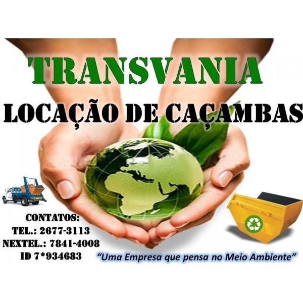 Preços Locação de Caçamba na Cooperativa - Locação Caçamba