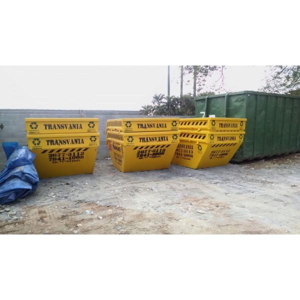 Preços Serviço de Locação de Caçamba de Lixo na Vila Francisco Mattarazzo - Caçamba de Lixo em São Bernardo