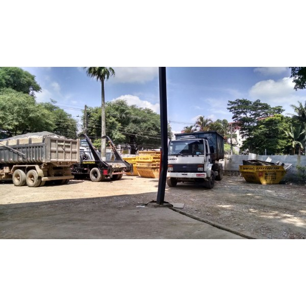 Quais Os Preços de Locação de Caçambas no Alto Santo André - Locação de Caçamba na Paulicéia