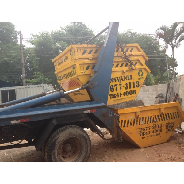 Qual o Preço de Serviço de Aluguel de Caçamba na Vila Camilópolis - Preço de Aluguel de Caçamba