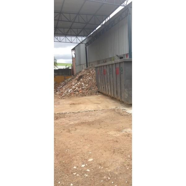 Serviço de Caçamba de Entulho para Locação para Obras Pequenas na Vila Lutécia - Caçamba de Entulho Preço
