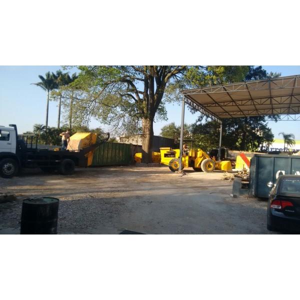 Serviço de Caçamba para Locação em Camilópolis - Caçamba de Lixo para Obras