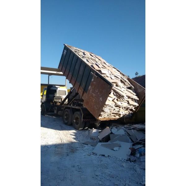Serviço de Caçamba para Locação na Homero Thon - Caçamba de Lixo no Taboão