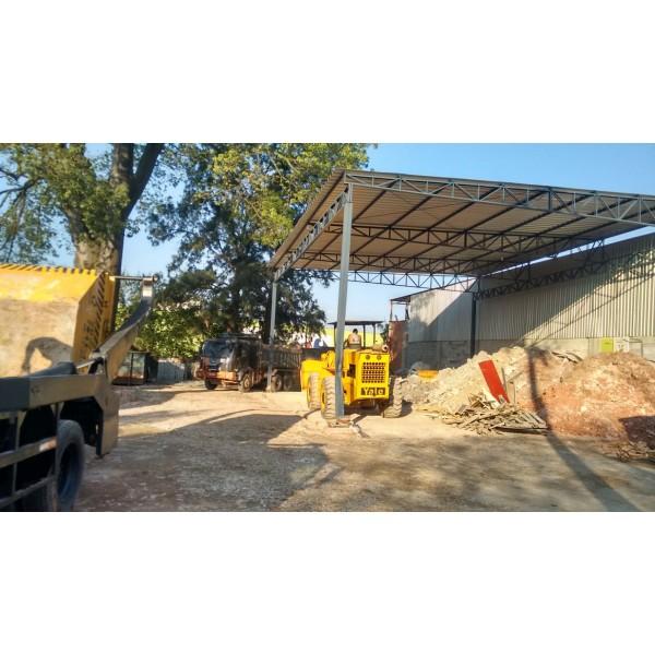 Serviço de Caçamba para Locação para Obras Pequenas no Jardim Santo André - Caçamba para Lixo Preço