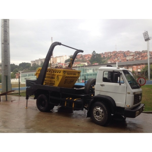 Serviços de Locação de Caçamba no Jardim Ciprestes - Locação de Caçamba em São Bernardo