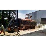 Caçamba de lixo para construções na Vila Bastos