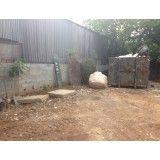 Caçambas de entulho onde encontrar empresa que faz locação na Vila Bastos