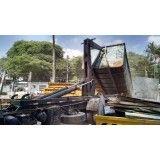 Como funciona locação de caçamba de lixo para obra na Cooperativa