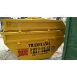 Contratar empresa para locação de caçambas de lixo para obra na Vila Lucinda