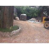 Contratar empresa para remoção de terra no Bairro Campestre