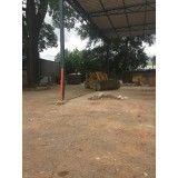 Empresa para remoção de terra na Vila Metalúrgica