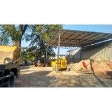 Empresa que faça caçamba de entulho pós obra no Jardim Santo André