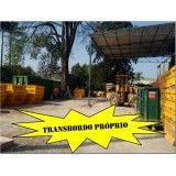 Empresa que faça locação de caçamba para lixo pós obra na Vila Santa Tereza