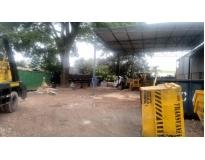 limpar terrenos na Vila Vitória