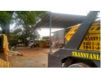 limpeza de terreno para construção na Vila Sacadura Cabral